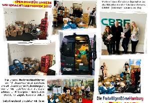Galerie Weihnachtsaktionen 2017 - Danke für diese Spenden an die Mitarbeiter des Unternehmens CBRE anzeigen.