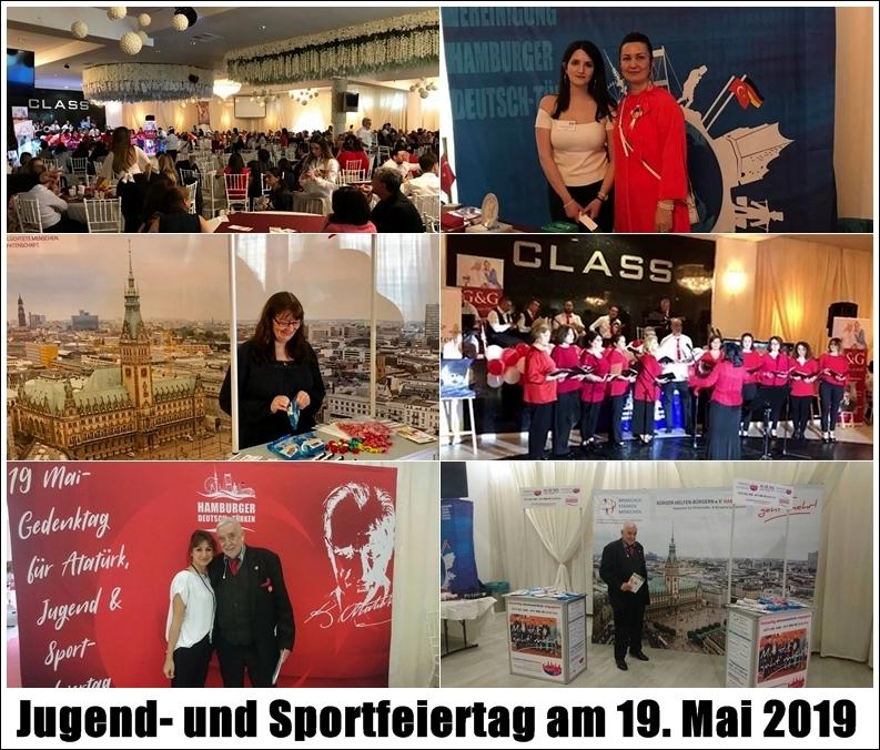 Gedenktag für Atatürk - Jugend- und Sportfeiertag 2019 Hamburg